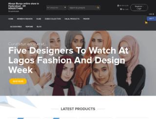 shopinmuslim.com screenshot