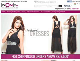 shopinonit.com screenshot