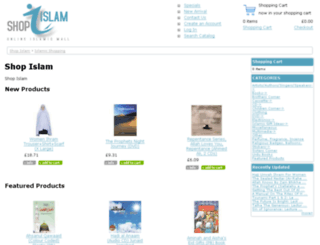 shopislam.co.uk screenshot