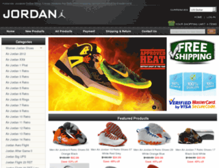 shopjordanshoesforsales.com screenshot