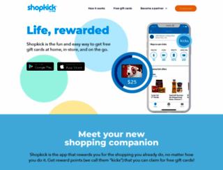 shopkick.com screenshot