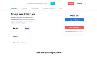 shopkorting.be screenshot