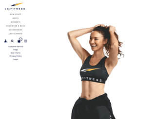 shoplafitness.com screenshot