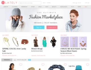 shoplately.com screenshot