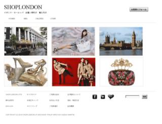shoplondon.jp screenshot