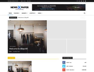 shopm.co.uk screenshot