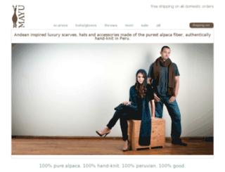shopmayu.com screenshot
