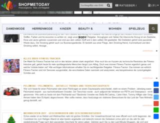 shopmetoday.de screenshot