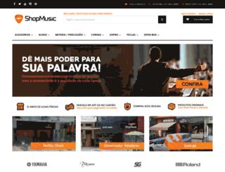 shopmusiconline.com.br screenshot