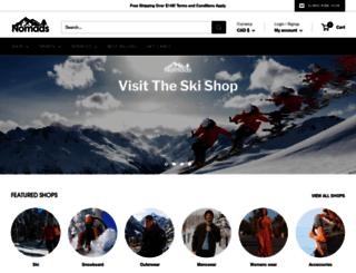 shopnomads.com screenshot