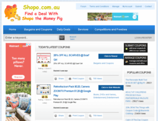 shopo.com.au screenshot