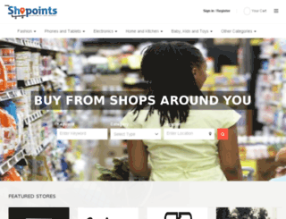 shopoints.net screenshot
