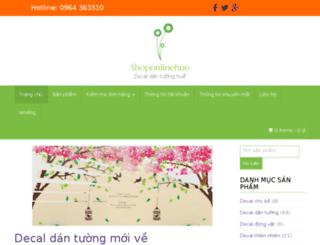 shoponlinehue.com screenshot