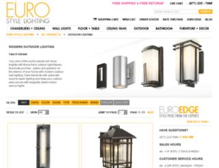 shopoutdoorlighting.com screenshot