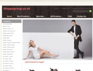shoppagroup.co.uk screenshot