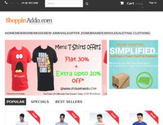shoppinadda.com screenshot