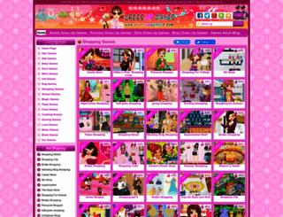 shopping-games.dressupgames8.com screenshot