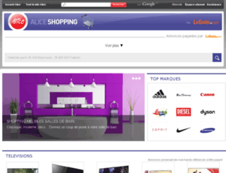shopping.aliceadsl.fr screenshot