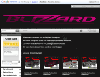 shopping.blizzard-tuning.de screenshot