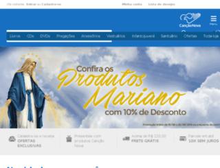 shopping.cancaonova.com screenshot