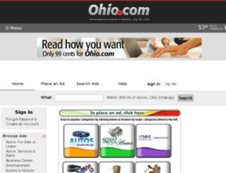 shopping.ohio.com screenshot