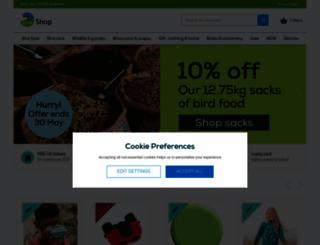 shopping.rspb.org.uk screenshot