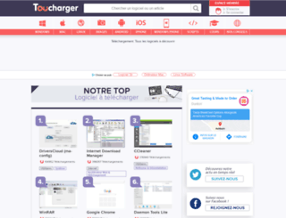shopping.toucharger.com screenshot