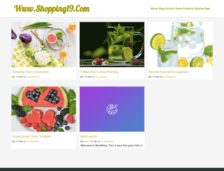 shopping19.com screenshot