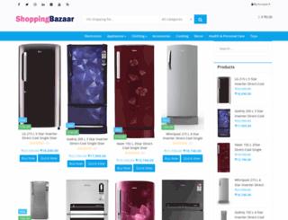 shoppingbazaar.co.in screenshot