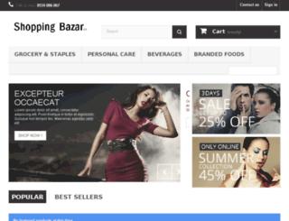 shoppingbazar.co screenshot