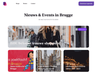 shoppingbrugge.be screenshot