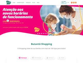 shoppingbutanta.com.br screenshot