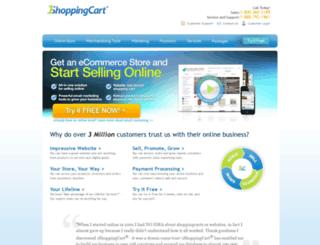 shoppingcart.com screenshot