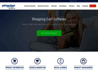 shoppingcart.goemerchant.com screenshot