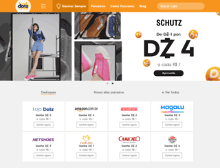 shoppingdotz.com.br screenshot