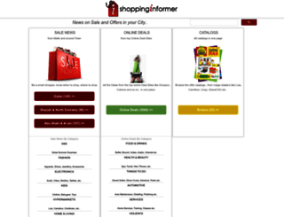 shoppinginformer.com screenshot