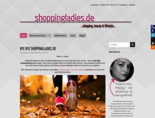 shoppingladies.de screenshot