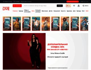 shoppinglive.ru screenshot