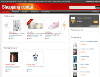 shoppingmall.shoppingcentar.com.hr screenshot