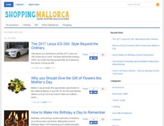 shoppingmallorca.net screenshot