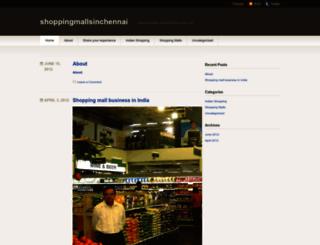 shoppingmallsinchennai.wordpress.com screenshot