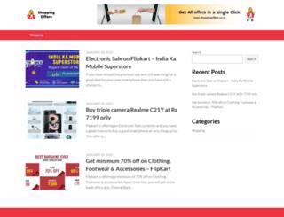 shoppingoffers.co.in screenshot