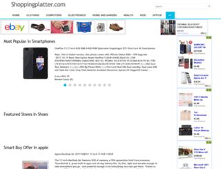 shoppingplatter.com screenshot