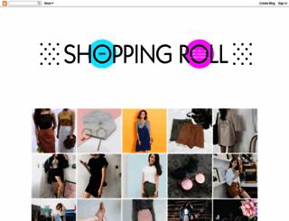 shoppingroll.blogspot.com screenshot