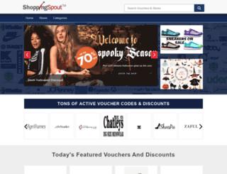 shoppingspout.co.uk screenshot
