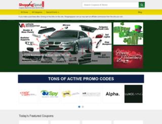 shoppingspout.com.au screenshot
