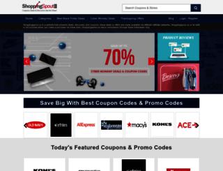 shoppingspout.us screenshot