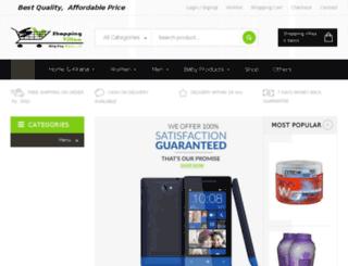 shoppingvillaa.com screenshot