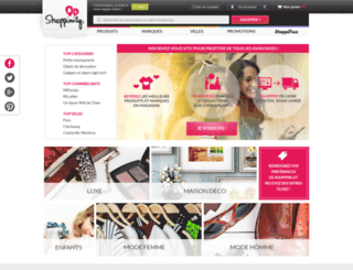shoppinity.com screenshot