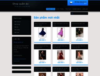 shopquanao3.webnode.vn screenshot